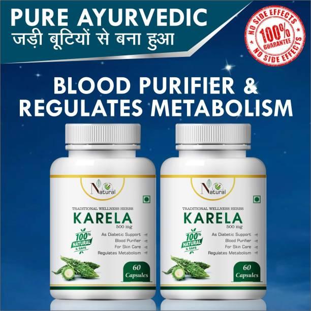 Natural Karela Blood Purifier & Regulats Matabolism