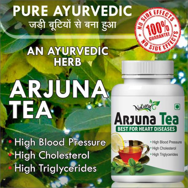 Natural Arjuna Tea Best For Heart Diseases 100% Ayurvedic