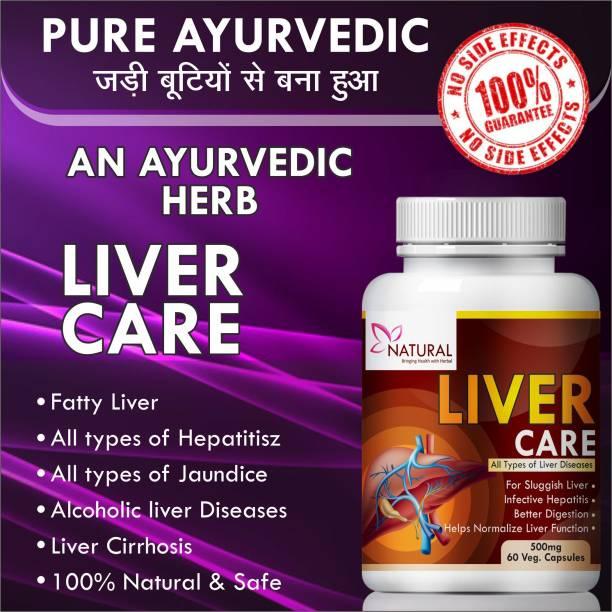Natural Liver Care Supplement for Improve Liver Function 100% Ayurvedic