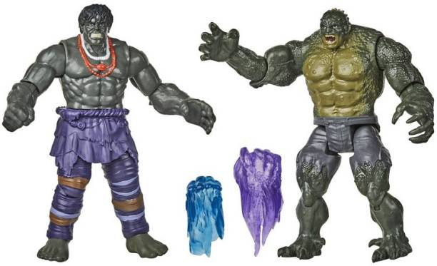 MARVEL Gamerverse 6-inch Collectible Hulk vs. Abomination Action Figure Toys, Ages 4 And Up