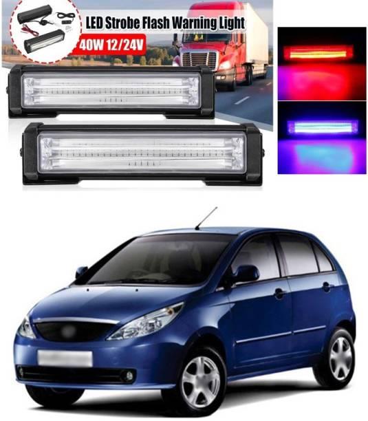 "XZRTZ Car Emergency Strobe Police Light 6"" 12V 40w/Pair LED Flasher Warning Beacon Hazard Caution Light Bar A30 Car Fancy Lights"