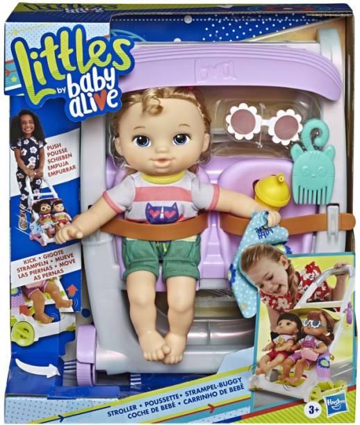 Baby Alive Littles, Push n Kick Stroller, Little Ana