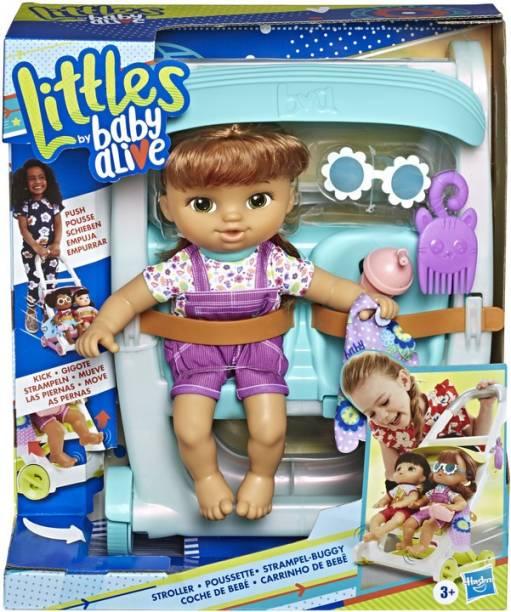 Baby Alive Littles, Push n Kick Stroller, Little Lucy
