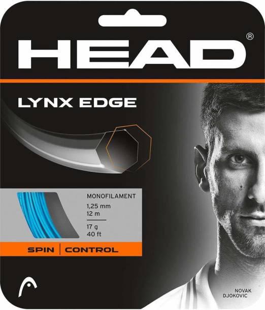 HEAD Lynx Edge Tennis String 17L (Blue) 1.25 Tennis String - 12 m