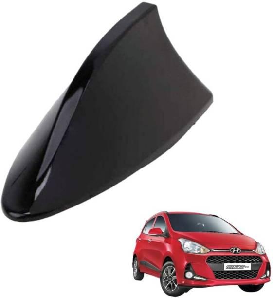 autokaar Car Shark Fin Radio FM/AM Signal Receiver Antenna Black for Grand i10 AKFMAM056K Whip Vehicle Antenna