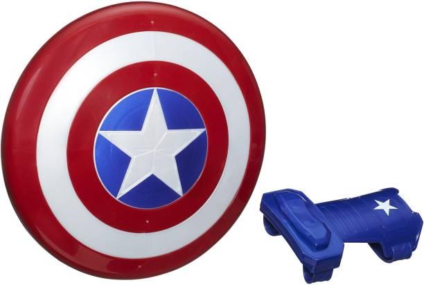 MARVEL Avengers Captain America Magnetic Shield & Gauntlet