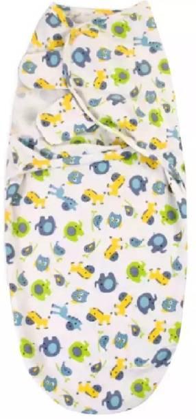 Babymoon Printed Single Swaddling Baby Blanket