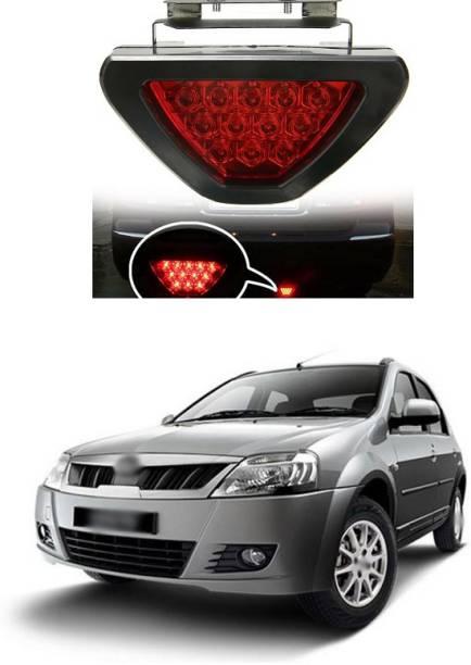 PECUNIA LED Car Blinking Brake Light Triangle F1 Style Rear Tail Brake Lamp 12V Universal Fit X113 Car Reflector Light