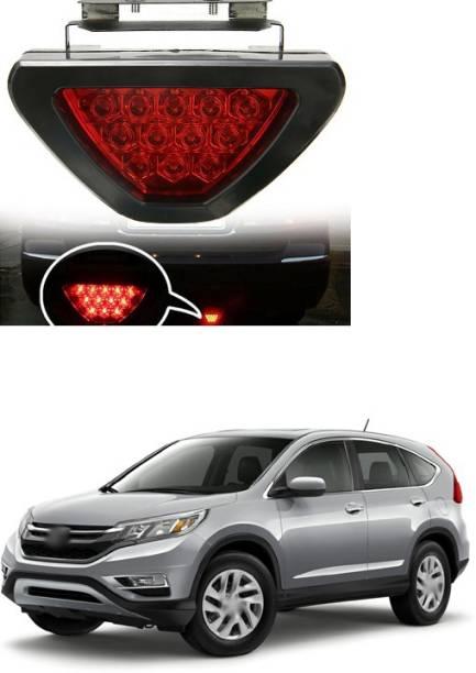 PECUNIA LED Car Blinking Brake Light Triangle F1 Style Rear Tail Brake Lamp 12V Universal Fit X69 Car Reflector Light