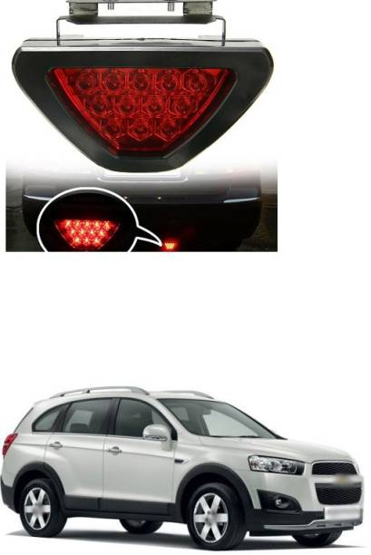 PECUNIA LED Car Blinking Brake Light Triangle F1 Style Rear Tail Brake Lamp 12V s (Red) X45 Car Reflector Light