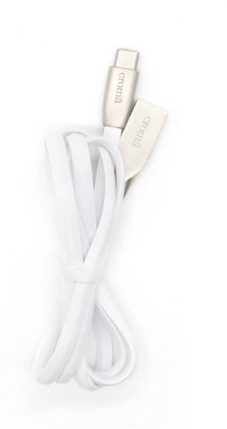 Croma Sync And Charge Type C USB Cable CA2272 1 m USB Type C Cable