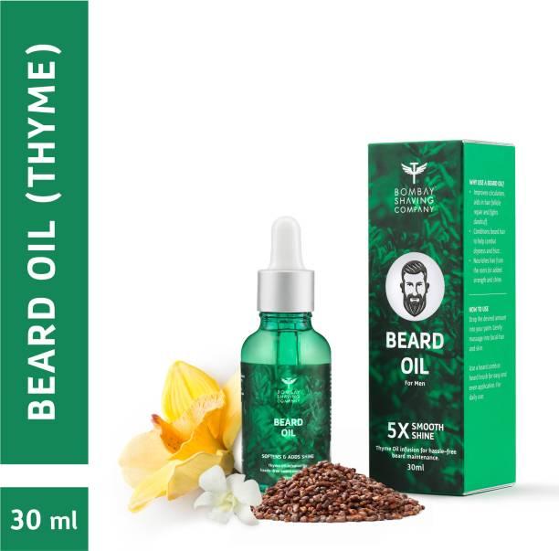 BOMBAY SHAVING COMPANY Beard Oil For Men- Thyme 30ml Hair Oil