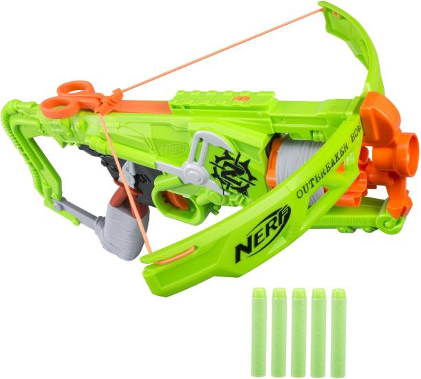 Nerf Zombie Strike Outbreaker Bow Bows & Arrows