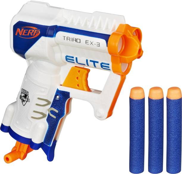 Nerf N-Strike Elite Triad EX-3 Guns & Darts