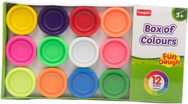 FUNSKOOL Fundoh box of 12 colours playset