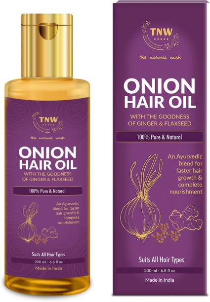 TNW - The Natural Wash Onion Hair Oil for Hair Growth And Anti-Hair Fall Hair Oil