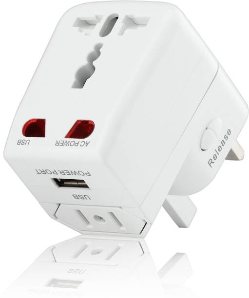 Croma Universal USB Adaptor CREP0142 Worldwide Adaptor