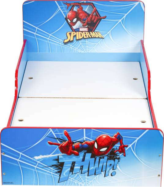 Yipi Marvel Spider Man Engineered Wood Single Box Bed