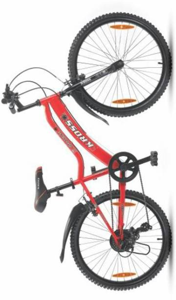 Kross spider 24 juniour 7speed gear unisex cycle 24 T Mountain Cycle