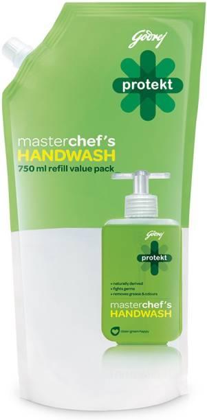 Godrej Protekt Masterchef's Hand Wash Refill Hand Wash Pouch