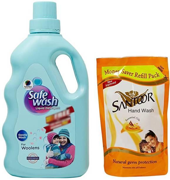 WIPRO safewash01 Multi-Fragrance Liquid Detergent