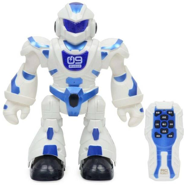 Magicwand Walking Dancing Programmable Robot with Music & 3D Lights & 360 Rotation
