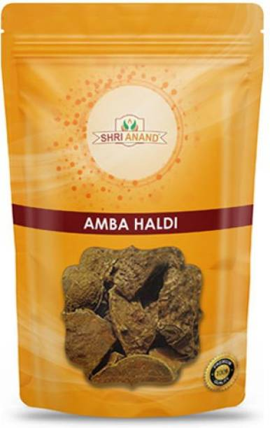 SHRI ANAND Wild Amba Haldi Kasturi Turmeric (200 Gram)