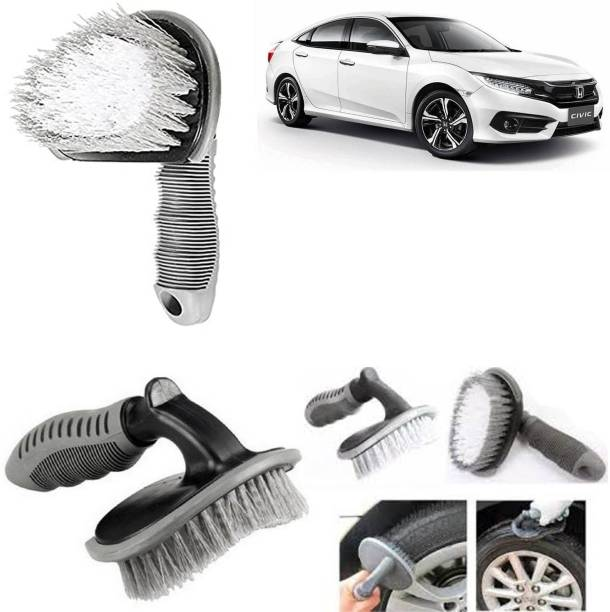 aksmit car tyre brush for Civic_fl 88031 350 g Wheel Tire Cleaner