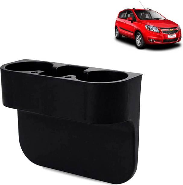 aksmit Car Seat Gap Drink / Storage Organizer Holder Black For Sail UVA_CBH128 Car Bottle Holder