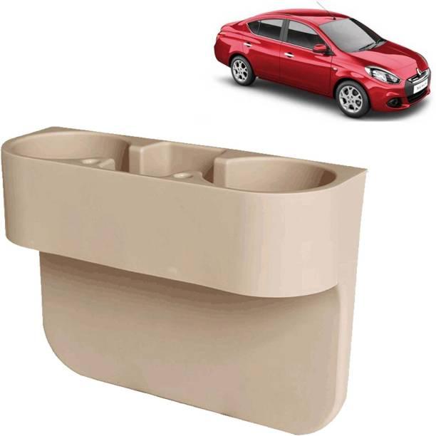 aksmit Car Seat Gap Drink / Storage Organizer Holder Beige For Scala_CDH553 Car Bottle Holder