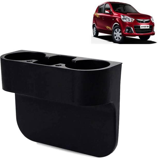 Rhtdm Car Seat Gap Drink / Storage Organizer Holder Black For Alto K10_CBH215 Car Bottle Holder