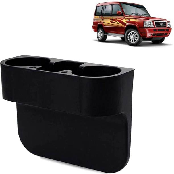 Rhtdm Car Seat Gap Drink / Storage Organizer Holder Black For Sumo_CBH283 Car Bottle Holder