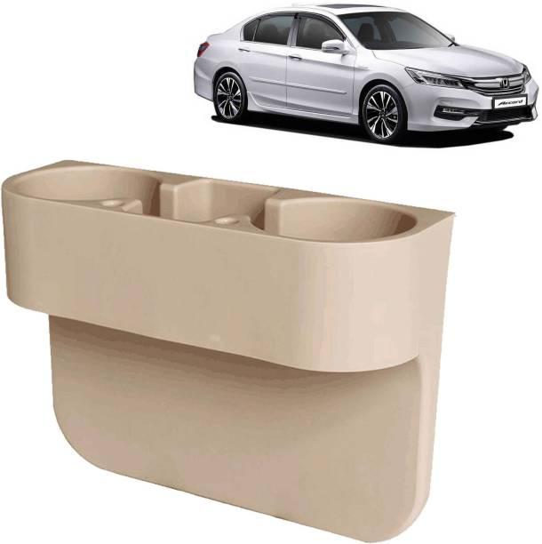 aksmit Car Seat Gap Drink / Storage Organizer Holder Beige For Accord_CDH448 Car Bottle Holder