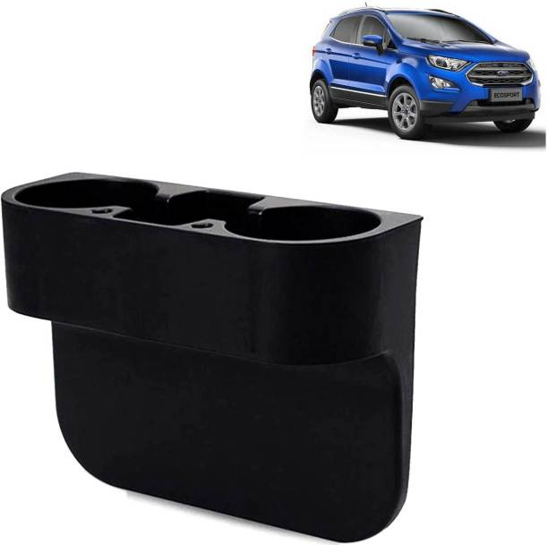 Rhtdm Car Seat Gap Drink / Storage Organizer Holder Black For Ecosport_CBH143 Car Bottle Holder