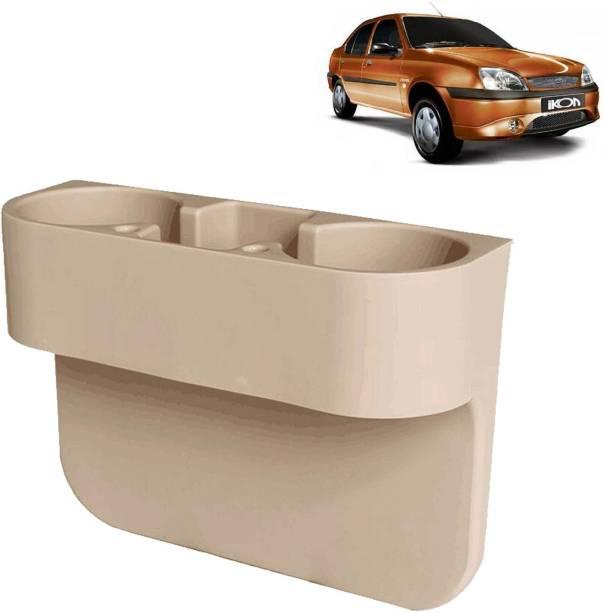 aksmit Car Seat Gap Drink / Storage Organizer Holder Beige For Ikon_CDH441 Car Bottle Holder