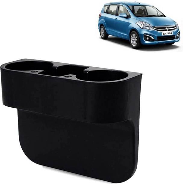 Rhtdm Car Seat Gap Drink / Storage Organizer Holder Black For Ertiga_CBH221 Car Bottle Holder