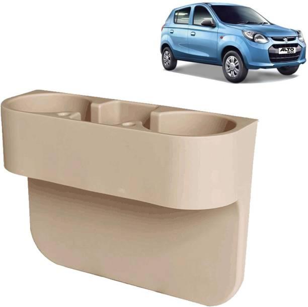 aksmit Car Seat Gap Drink / Storage Organizer Holder Beige For Alto 800_CDH505 Car Bottle Holder