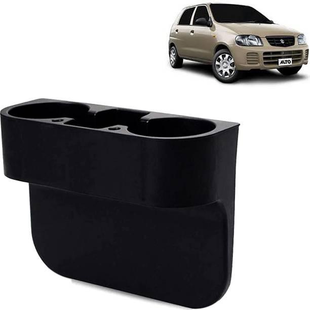 Rhtdm Car Seat Gap Drink / Storage Organizer Holder Black For Alto_CBH213 Car Bottle Holder