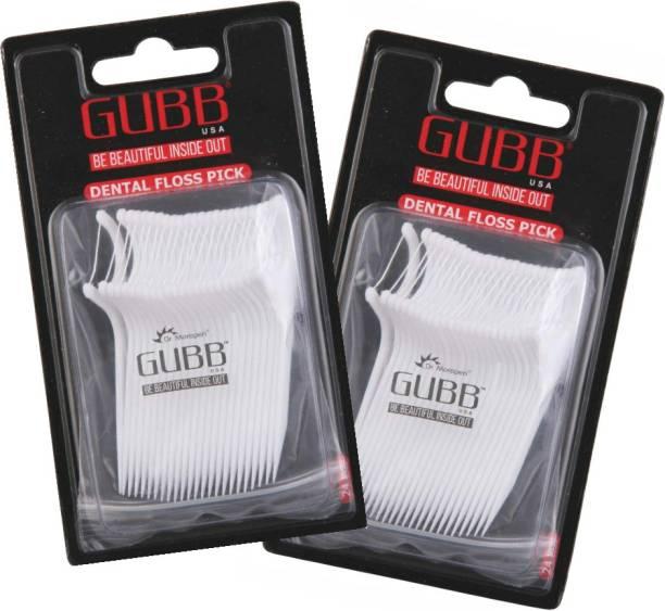 GUBB USA Dental Floss Pick 24 Pieces Pack of 2 (24 x2)