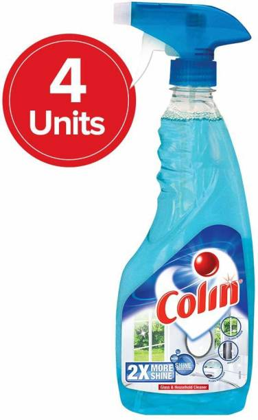 colin Glass Cleaner Spray (500 ml ,Pack of 4)