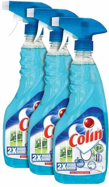 colin Glass Cleaner Spray -Regular (500 ml, Pack of 3)