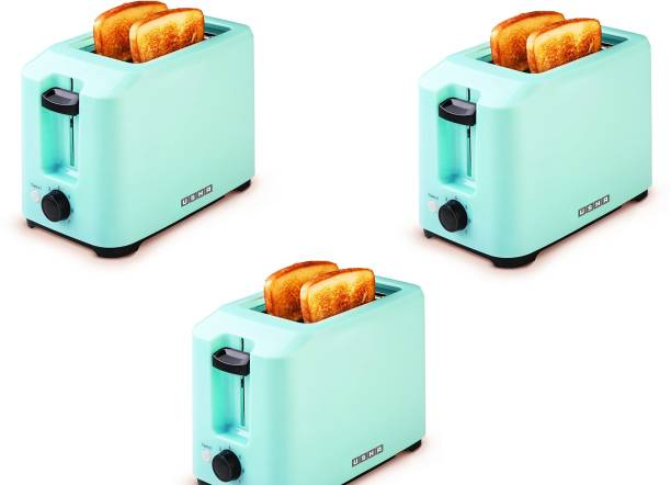 USHA PT3720 Pack of 3 700 W Pop Up Toaster