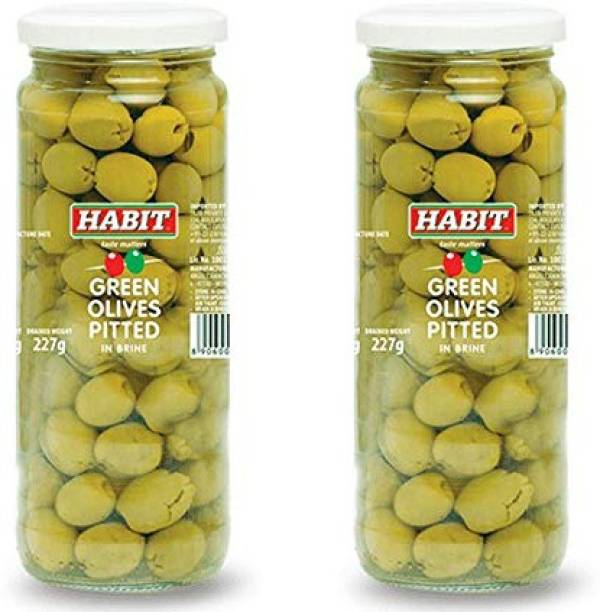 HABIT Green olives pitted Olives