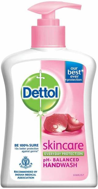 Dettol Skincare Liquid Hand Wash - 200 ml Hand Wash Bottle