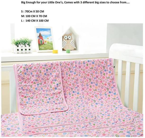 Babywish Cotton Baby Bed Protecting Mat