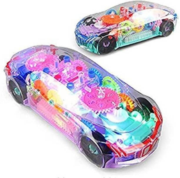 Palash Toys Transparent Car Toy for Kids
