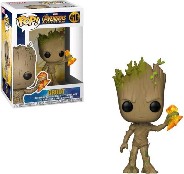 Funko Groot with Stormbreaker- Avengers 3: Infinity War Pop #416