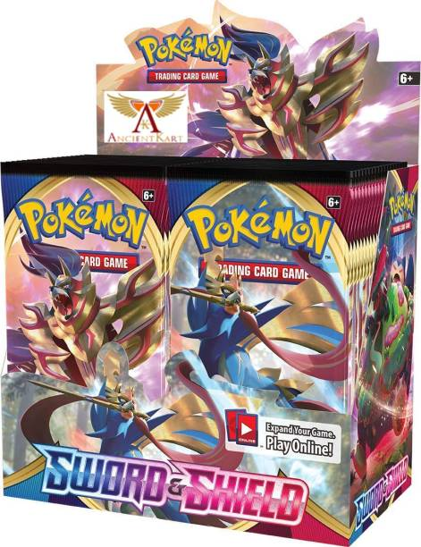 AncientKart Pokemon cards Sword and Shield booster box