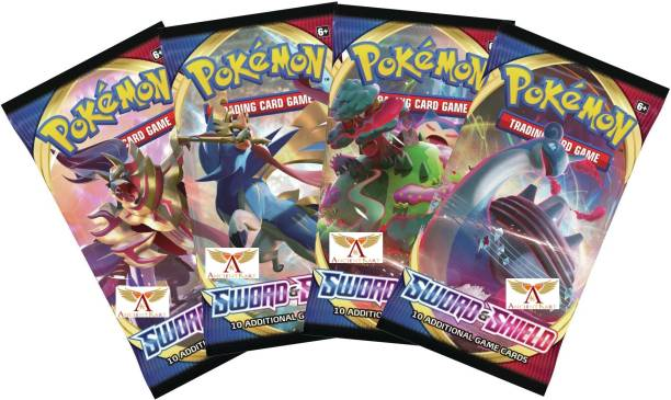 AncientKart Pokemon cards Sword and Shield booster packs set of 4