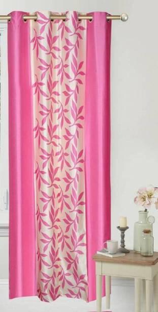 Batra Home Furnishing 151 cm (5 ft) Polyester Window Curtain Single Curtain